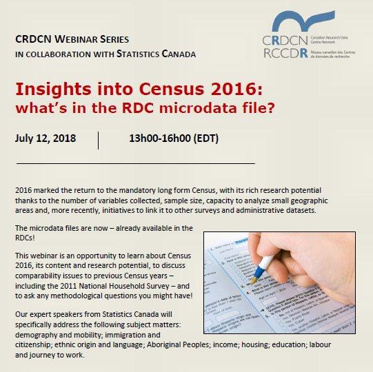 CRDCN RCCDR on Twitter: