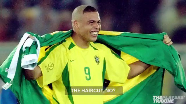In 2002, @Ronaldo's #WorldCup haircut swept across Brazil and @neymarjr was one of its many casualties. 😂 #WC32