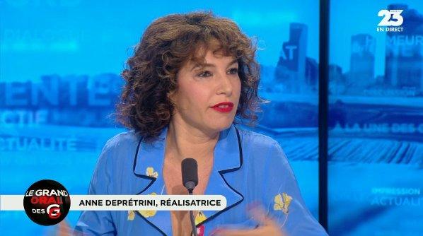 VIDÉO �� - Anne Depétrini : 'Le monde s'améliore, je reste optimiste.' #GGRMC ������ https://t.co/FuIsrmPUld https://t.co/KeeDCGsWJD