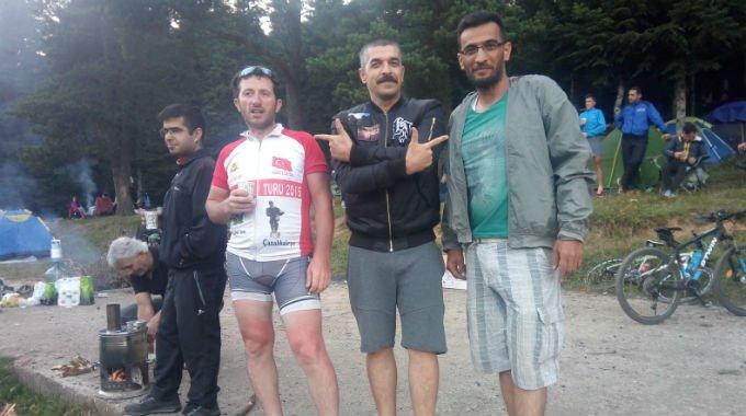 Kocaelili Bisikletçiler İnönü Yaylası'nda Kamp Yaptı ile ilgili görsel sonucu