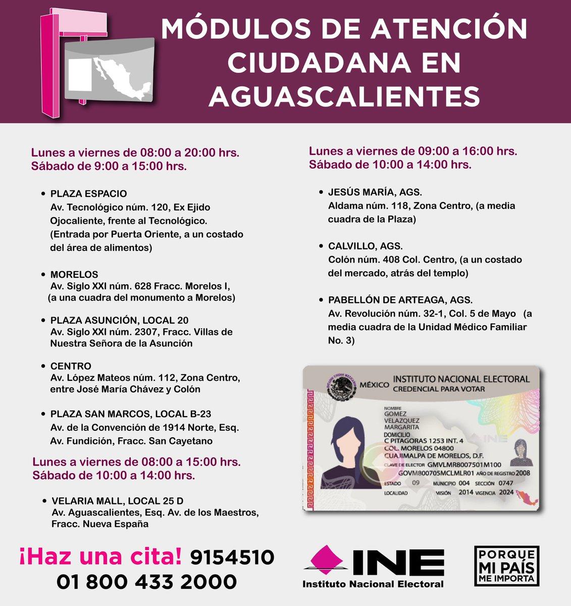 Ine Aguascalientes On Twitter Tramita Tu