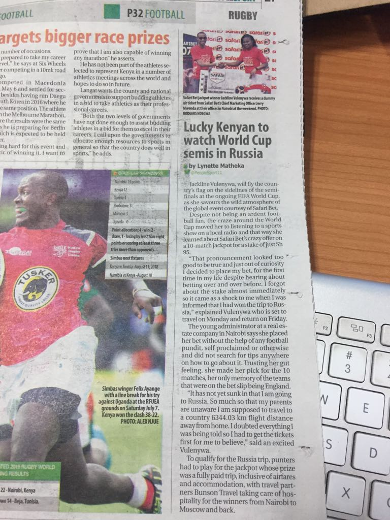 Lucky sports betting uganda newspapers investing in crypto currency values