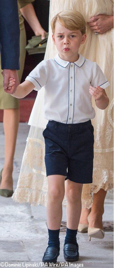 Крестины принца Луи