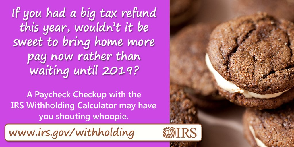 2019 federal tax withholding calculator
