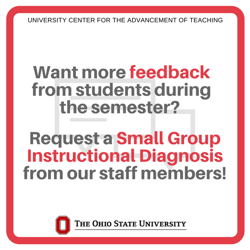 Interested in gathering feedback from students next semester? Request a SGID from our staff. More info: https://t.co/lYQ4EDyW2Z