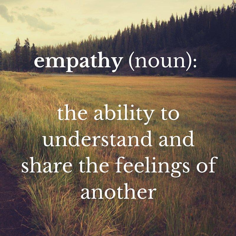 Much of teaching involves #empathy #MondayMotivation