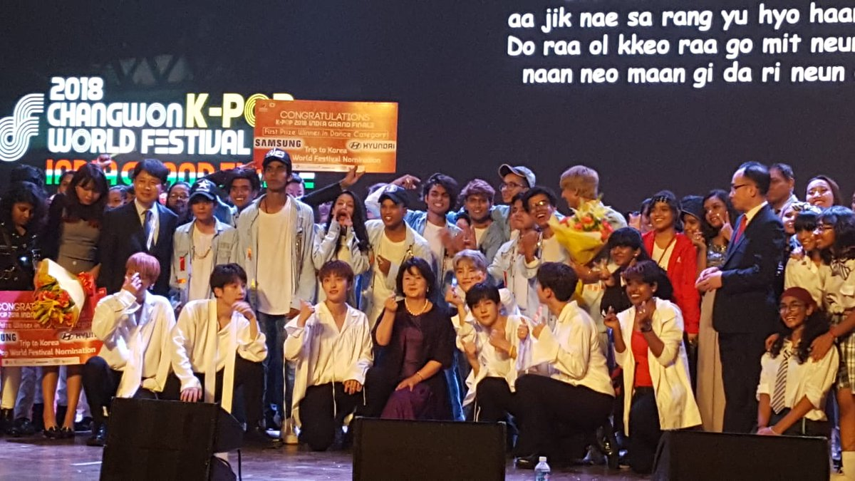 South Korea's first lady Kim Jung-sook promotes K-pop in