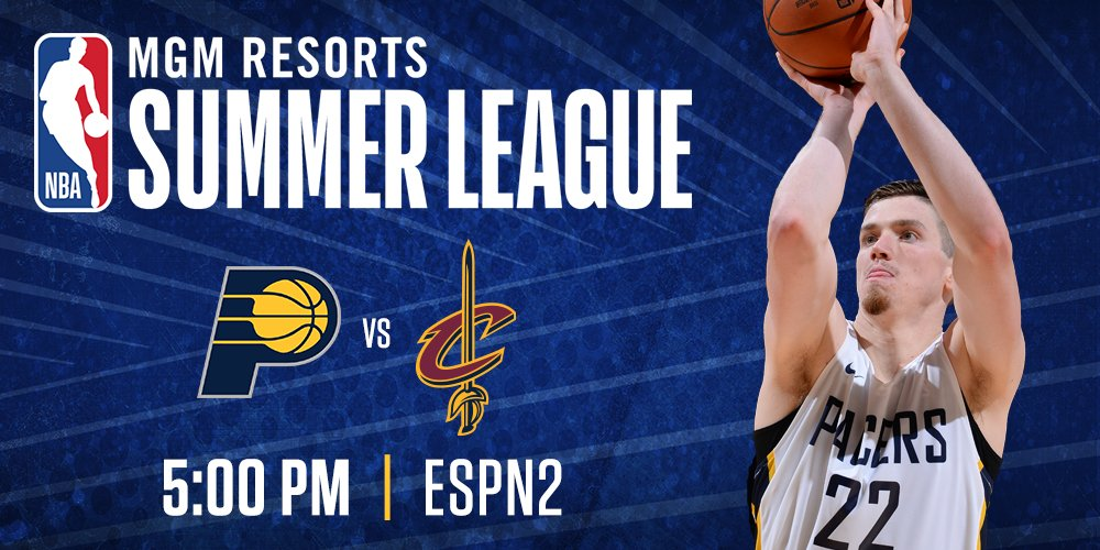 Game 3 of @NBASummerLeague tips off today at 5p ET on ESPN2. ☀️�� https://t.co/tPhJyGFIj1