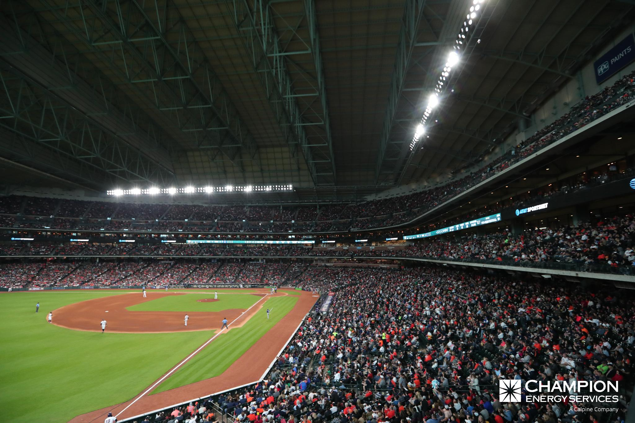 Tonight's @ChampionEnergy Roof Report: CLOSED  Details and gate info: https://t.co/j0U8RZ65pj https://t.co/slGdAudA67