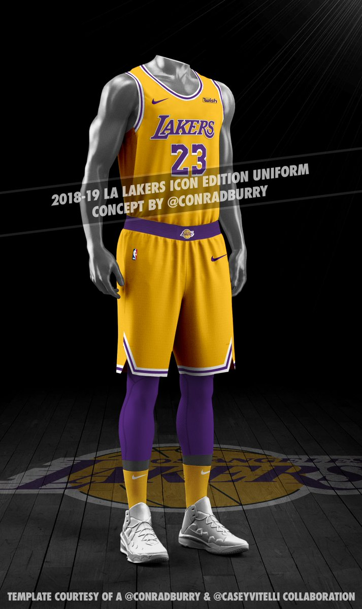 def87c2ca ... full-view concepts of the 3 possible new Lakers unis. I m on board w   the changes