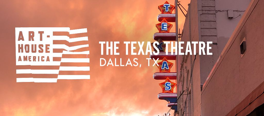 For our latest episode of ART-HOUSE AMERICA on the @criterionchannl, we visited the @TexasTheatre, known to many as the movie theater Lee Harvey Oswald ducked into after shooting John F. Kennedy, but is now one of the most exciting cultural hubs in Dallas: bit.ly/2L1KIHq