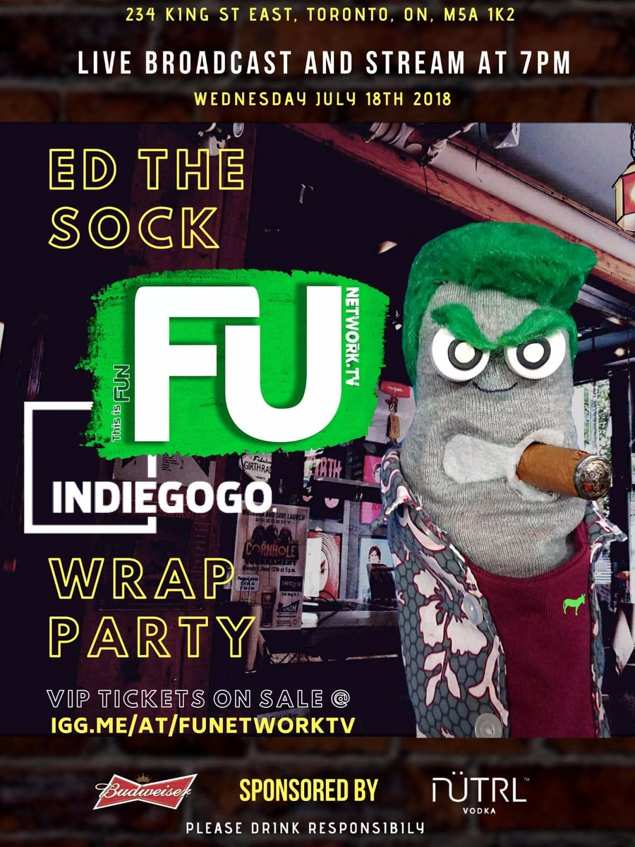 Ed The Sock On Twitter Invite 50 Friends To Fb Event 4 Chance To