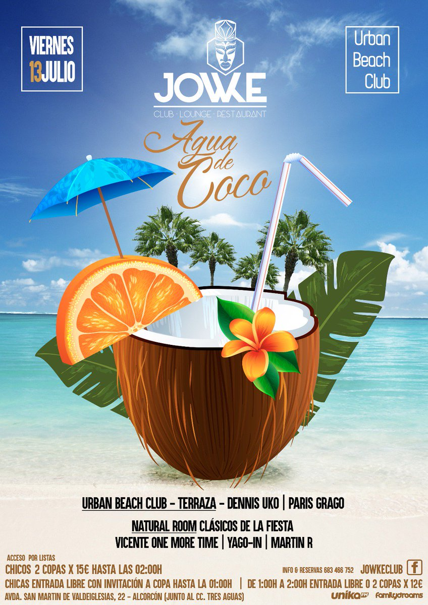 Jowke Club On Twitter Este Próximo Viernes 13 De Julio