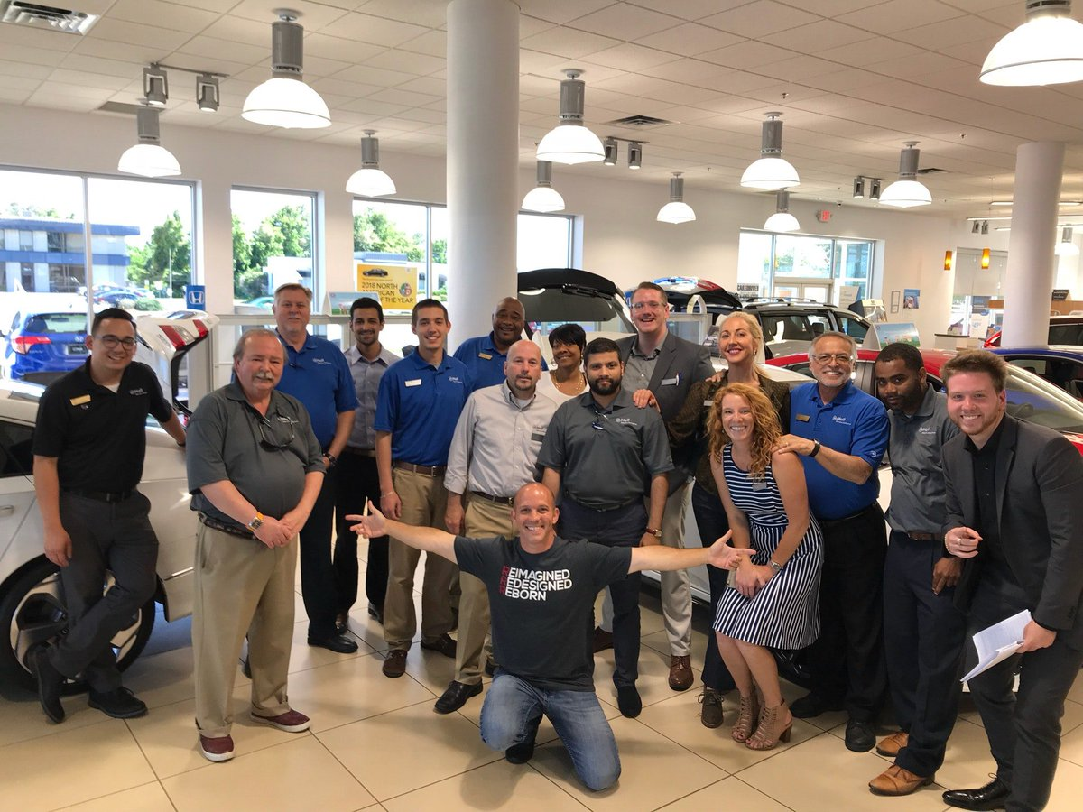 Great Honda Team Here At Hall Honda! TY For Staying #InTheKnow All About  The New Honda Insight (@ Hall Honda In Virginia Beach, ...
