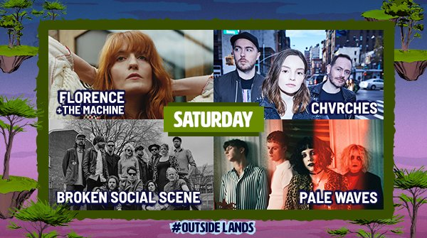 ranger dave has got the love. single day tickets for #outsidelands 2018 are available now: bit.ly/2xKjlzd