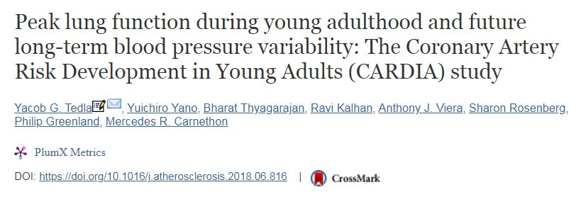 artery risk adults young development Coronary in