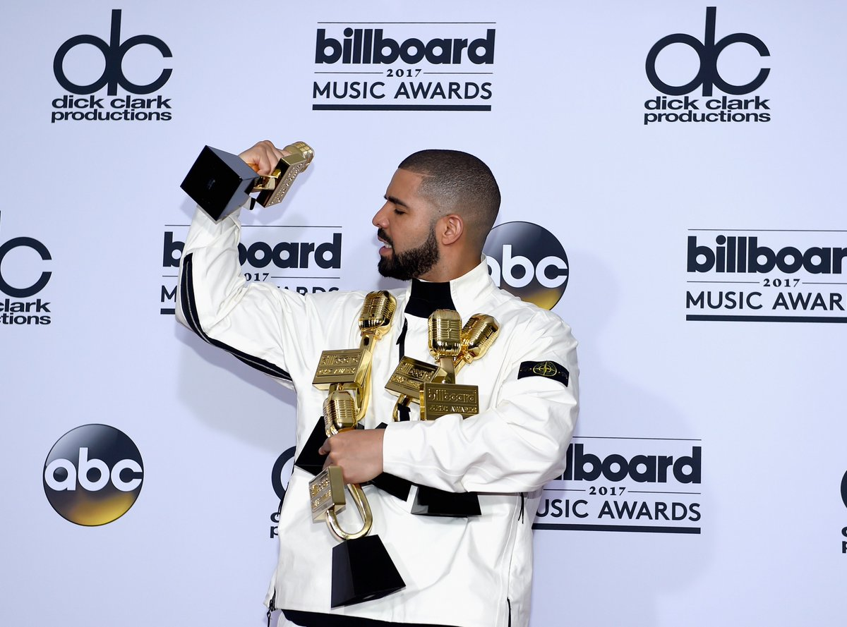 .@Drake has claimed 7 spots on the Hot 100's Top 10, breaking a record previously held by The Beatles. Congratulations!