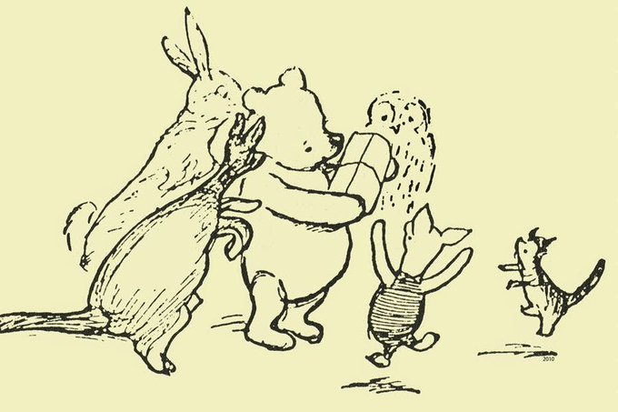 """Rivers know this: there is no hurry. We shall get there some day."" The best #WinniethePooh quotes for all moments in life #TuesdayThoughts Photo"