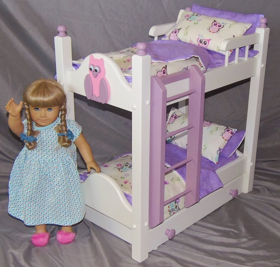 Keating Woodcraft On Twitter Our New Doll Bunk Bed With Trundle