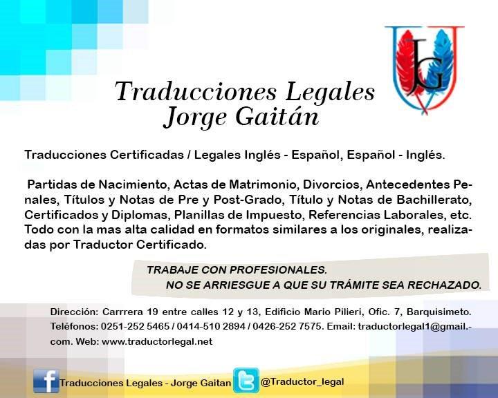Jorge Gaitan (@traductor_legal) | Twitter