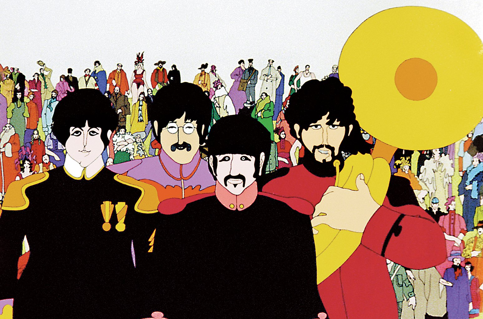 Reloaded twaddle – RT @billboard: Restorer of Beatles film Yellow Submarine talks state of the a...