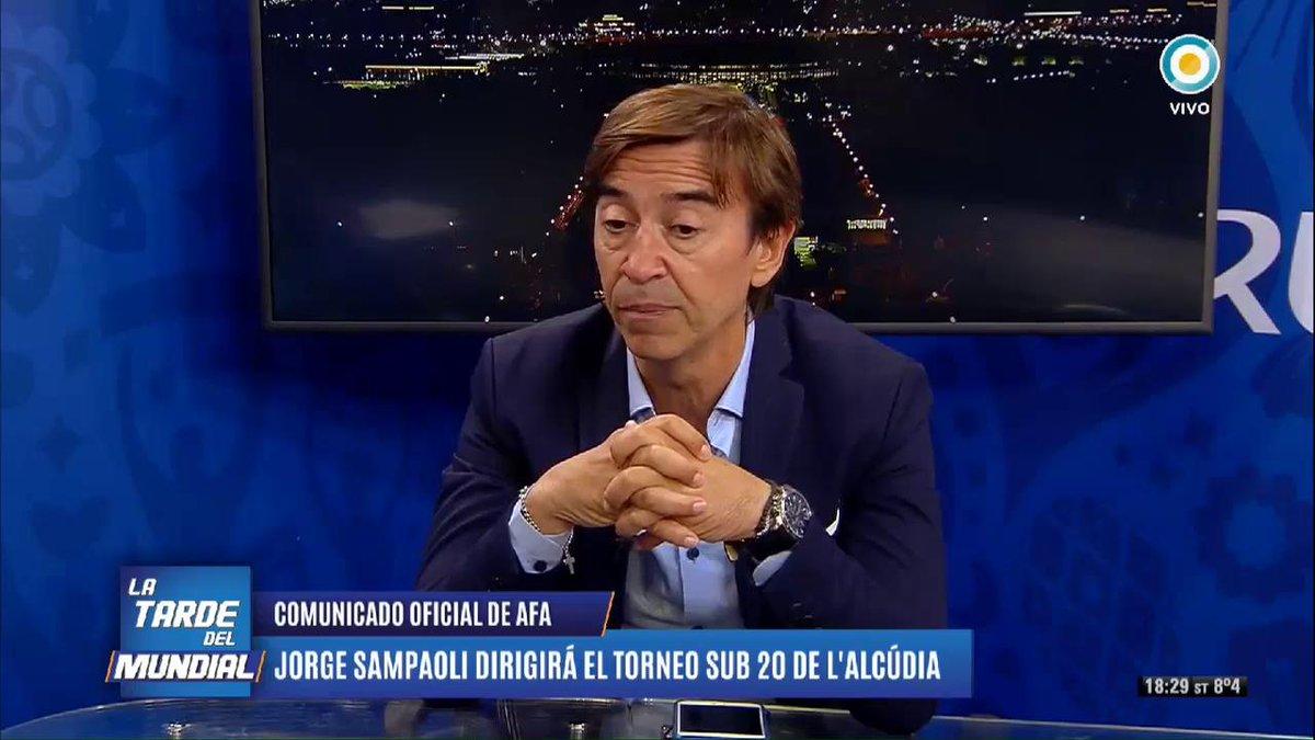 #SomosArgentina | Jorge Sampaoli dirigirá a la Selección Sub 20 en el torneo de LAlcudia. La AFA lo confirmó a través de un comunicado. Mientras el Comite Ejecutivo define el futuro del DT, analizamos los posibles candidatos.