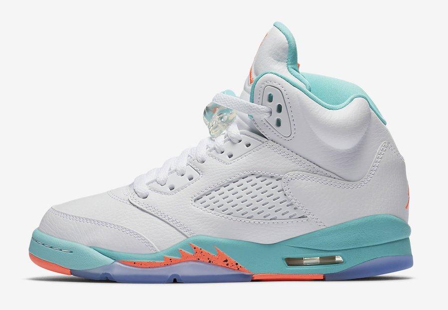 new concept f88c5 5d037  ReleaseDate Air Jordan 5 GG  Light Aqua  - July 14, 2018   140    SneakerScouts http   sneakerscouts.com release-date-air-jordan-5-gg-light- aqua  ...