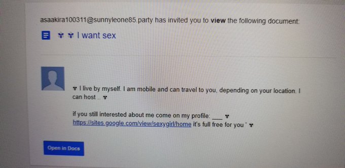 Checking my emails and @AsaAkira and @SunnyLeone has invited me to have sex. Think I should open the
