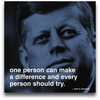 Rich Cruse On Twitter One Person Can Make A Difference And Every