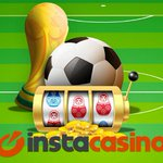 Image for the Tweet beginning: InstaCasino – World Cup Race