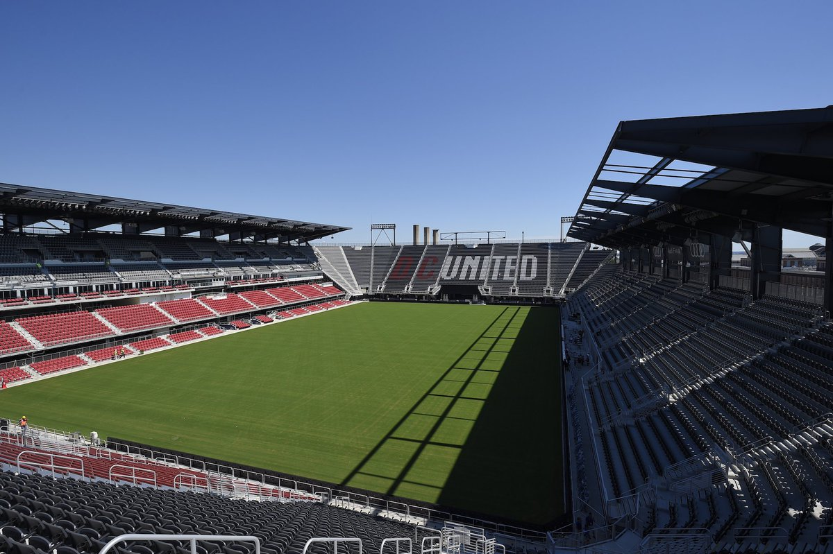 Audi Field On Twitter Congratulations To At Dcunited On Todays