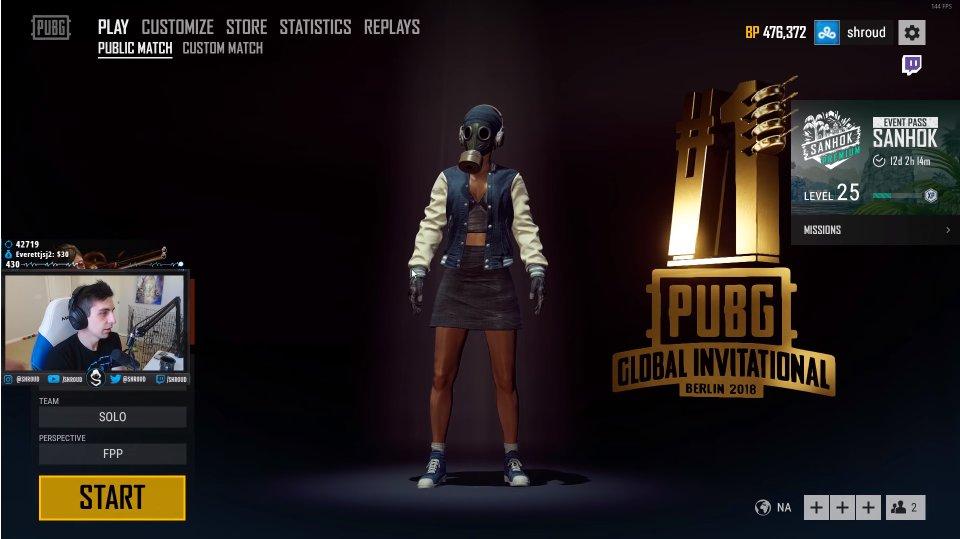 Pinoy Game Store On Twitter Look Shroud At Shroud Wearing 3