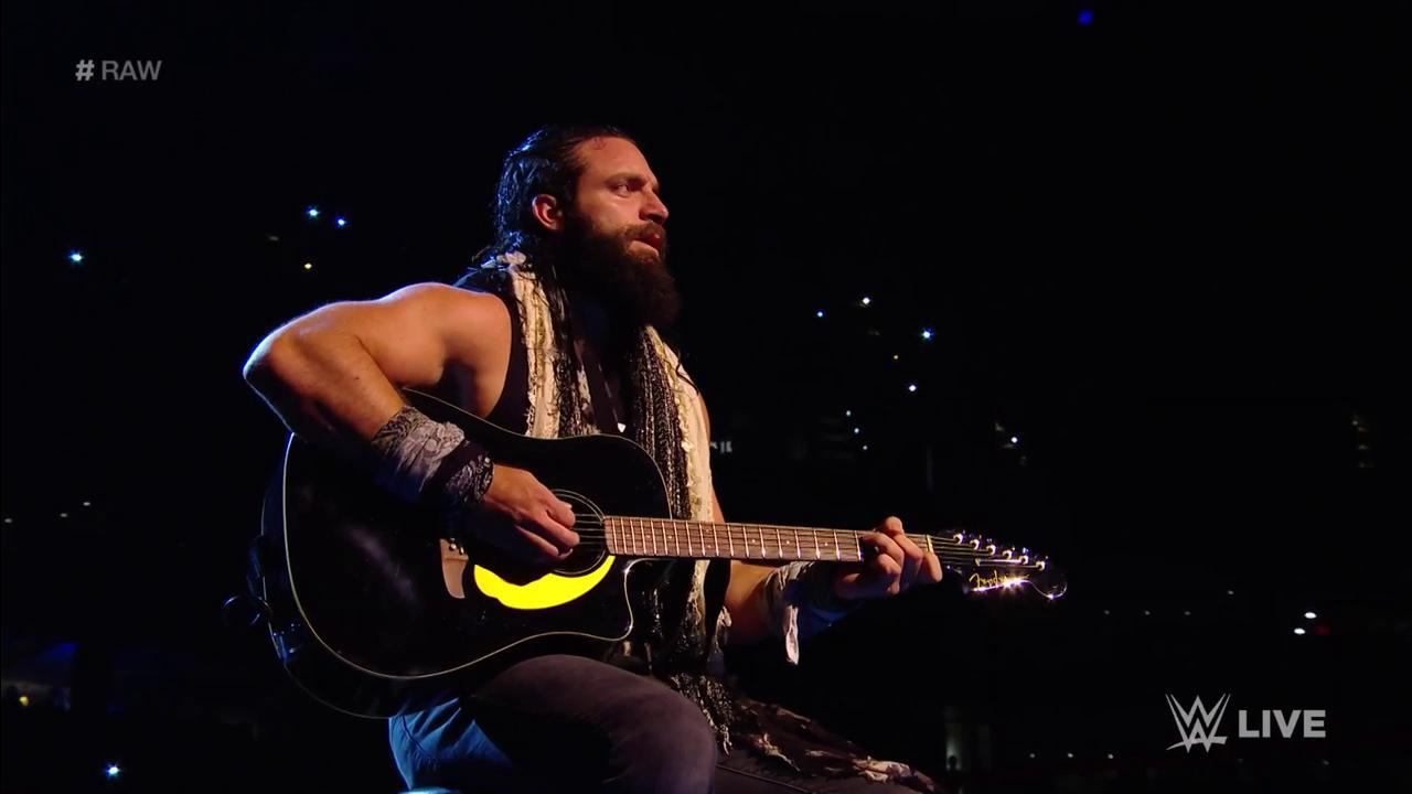 You heard it here FIRST: @IAmEliasWWE has been in the studio recording his DEBUT ALBUM! #RAW https://t.co/Gk2pyYY09U