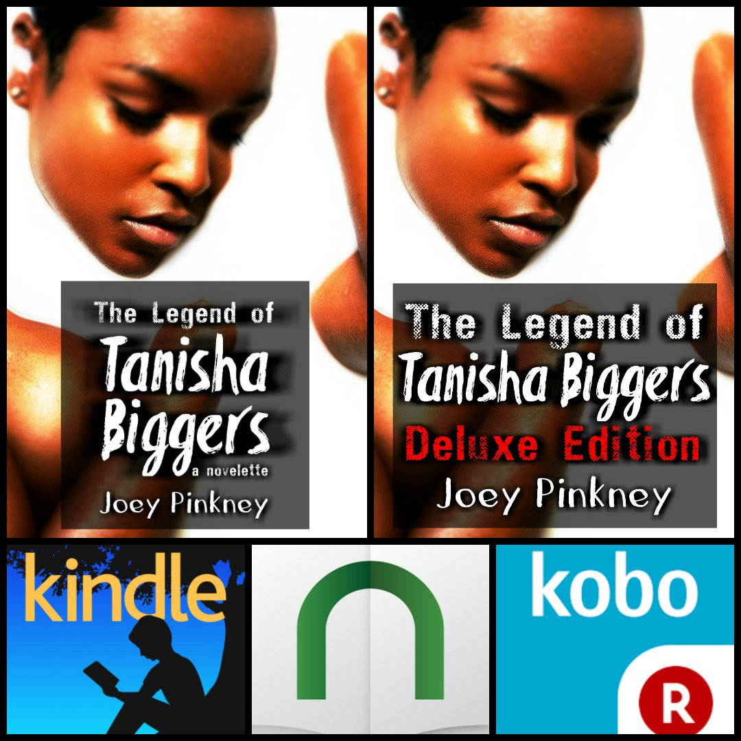"https://t.co/LpTjlw7QJ3 ""The Legend of Tanisha Biggers' #novelette #standalone #anthology #deluxeedition https://t.co/o3nMBthbLx"