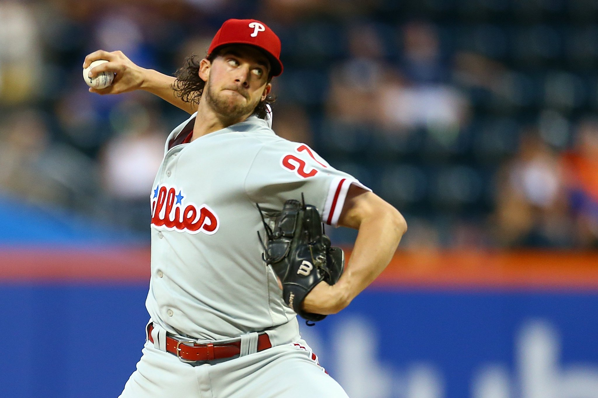 It is an absolute joy to watch you go to work every fifth day, @AaronNola027.  #GeauxPhils https://t.co/oi2Gwm5i7p