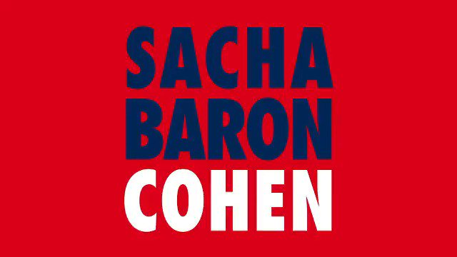 HE'S BACK. Brand new @SachaBaronCohen comedy starts this Monday 10pm. #WhoIsAmerica