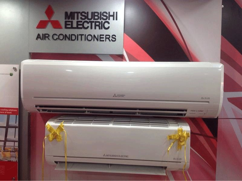 Call On 9766949357 Maheshwari Trading Company Mitsubishi Ac Dealers Exclusive Electric Air Conditioner Showroom In