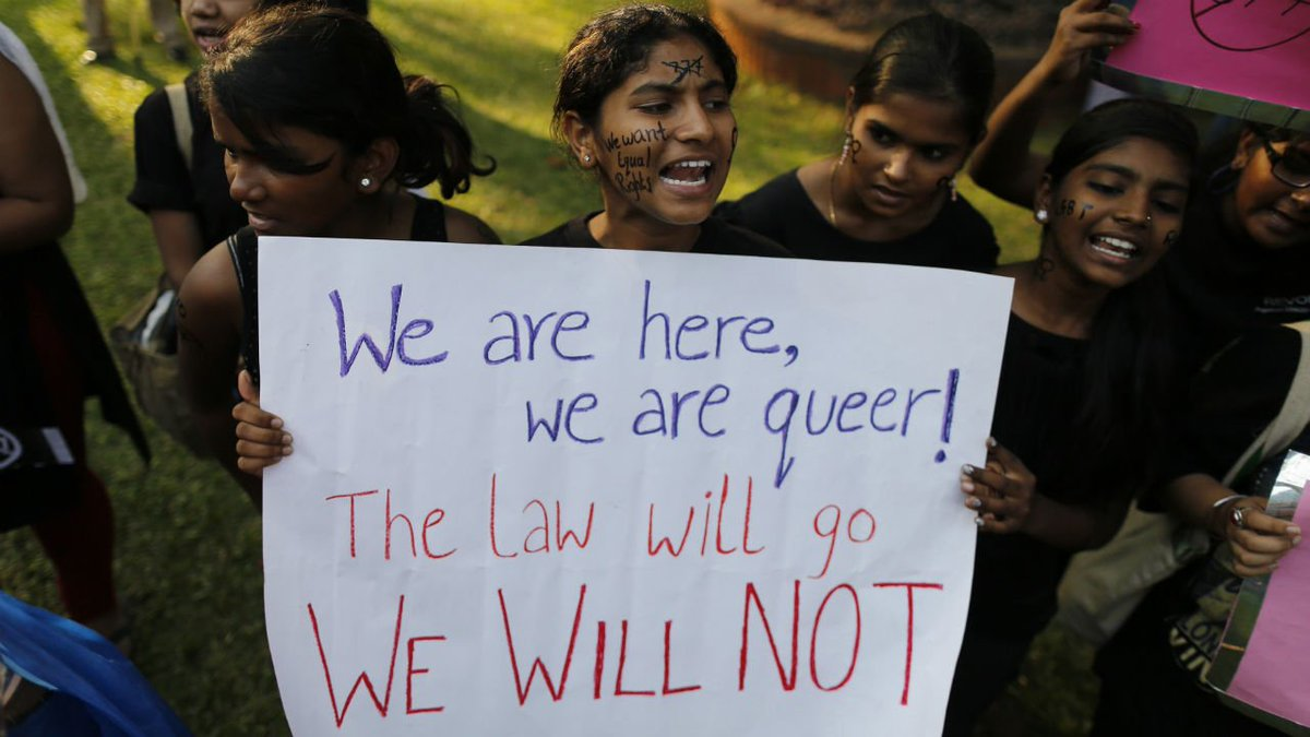 #Section377 - SC says Values Change as the Society Changes