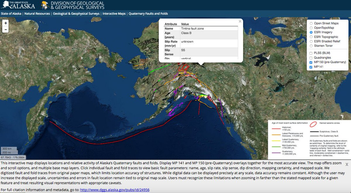 Interactive Map Of Alaska.Greg Durocher On Twitter Check Out The Info On Alaska S Largest