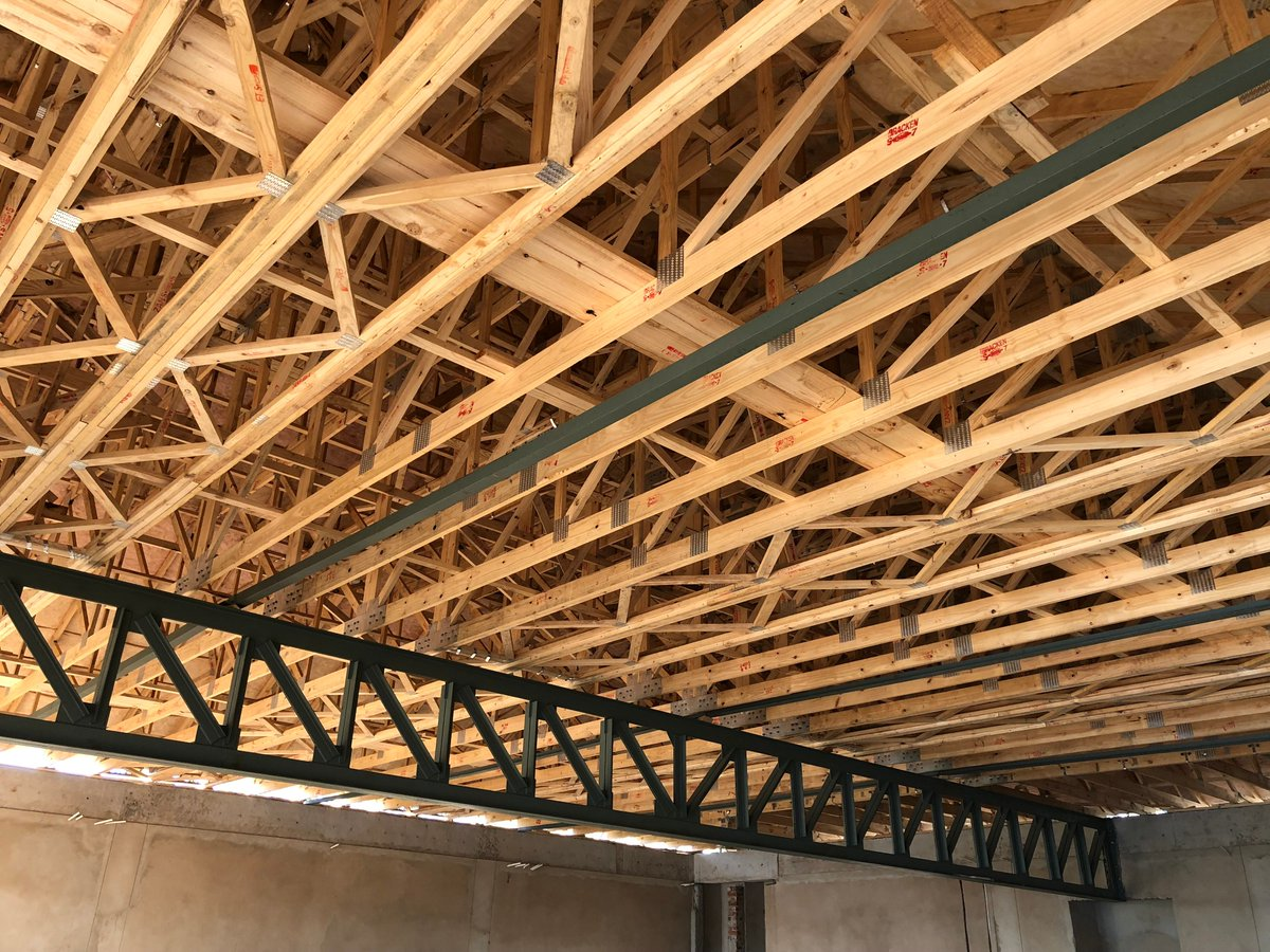 Mitek South Africa On Twitter This Roof Structure Supplied And Erected By Arbeid Adel Trusses Just Demonstrates The Immense Flexibility Of Pre Fabricated Timber Roof Trusses As Well As What Can Be Done