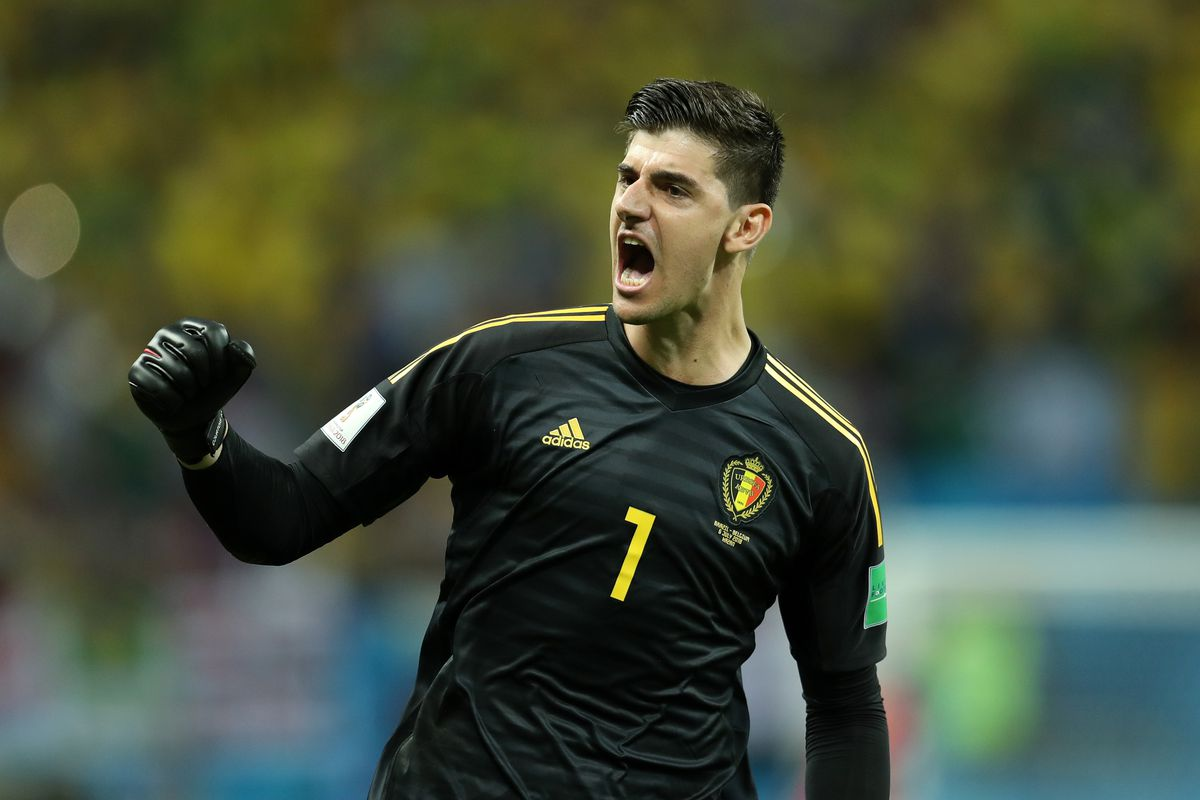 thibaut courtois made nine saves for belgium taking his tournament tally up  to 18 only guillermo 162e78bd0