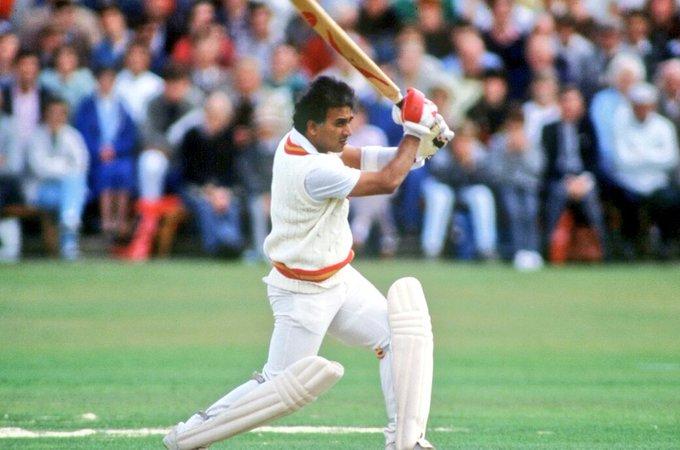 Happy Birthday to Sunil Gavaskar, the first to 10,000 runs in Test cricket!