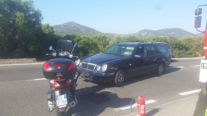 George injured in road accident in Sardinia Dhuxq-zXcAAZdl9?format=jpg&name=small