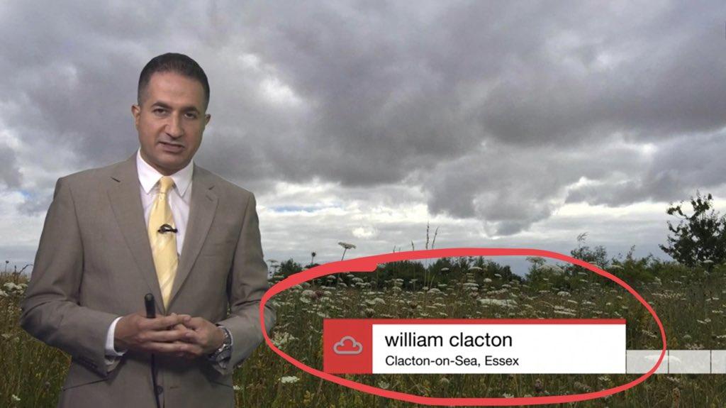 William Clacton from Clacton