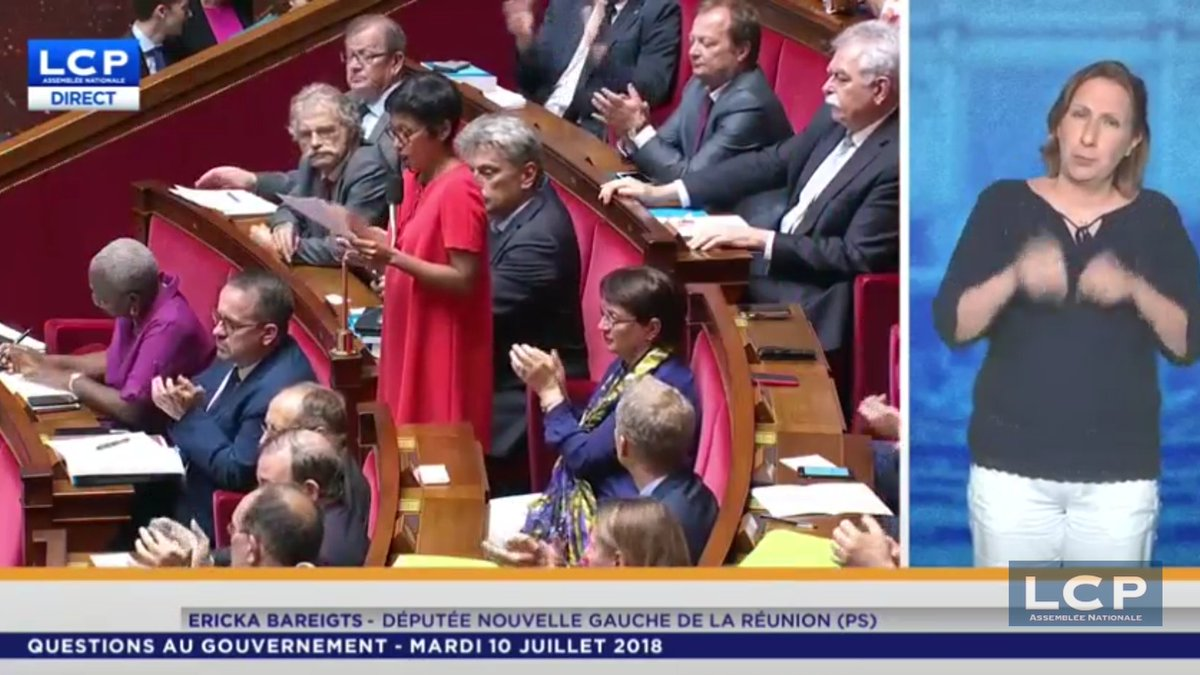 Ericka Bareigts On Twitter Je Viens D Interpeller Le Gouvernement