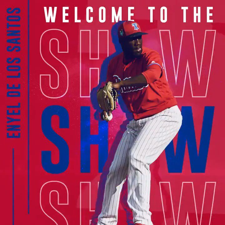 A day he'll never forget.  Welcome to The Show, Enyel! https://t.co/9LkAhgMRb6