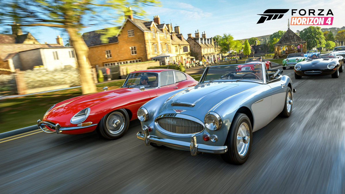 Seasons In Forza Horizon 4 Plus Afterwards There Will Be A 60 Min Broadcast With More Exclusive ForzaHorizon4 Gameplay Mixer Xbox