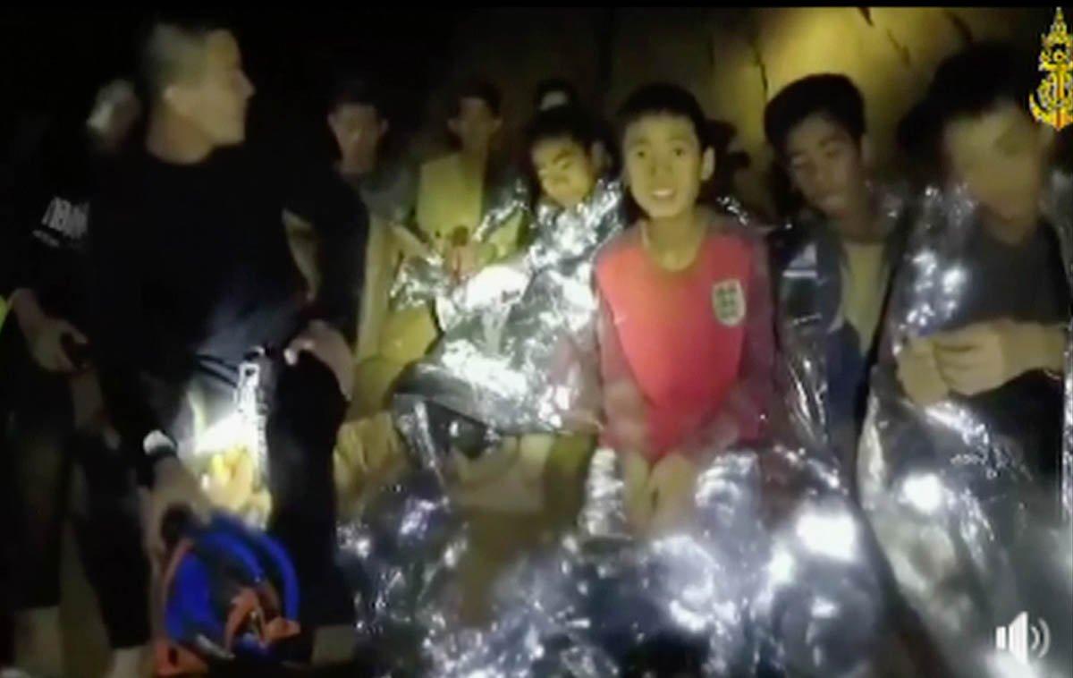 UPDATE: 11th boy out, 2 more to go https://t.co/SPq5V00tYK #ThaiCaveRescue https://t.co/fBrnTTN9Hs