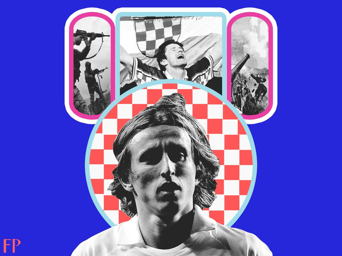 #NewOnFP: Luka Modric - Monk of Silent Spaces, Between Bombs and Bravura by @devellix. You might not see his face on magazine cover pictures or billboards, but Luka Modric, as this #WorldCup should drive home, is a credit to this sport and #Cro. - footballparadise.com/monk-luka-modr…