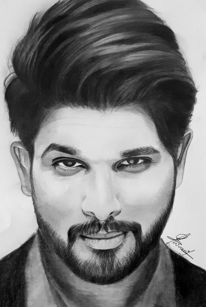 Shivani Jella On Twitter Alluarjun Huge Fan Of Yours This Sketch Has Been Completed After Lots Of Effort Hope U Love It Alluarjun Allusirish Alluarjun Alluarjun Alluarjun Https T Co Tz8kbmg8za